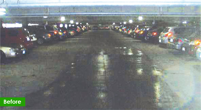 Parking LED Tubes and System